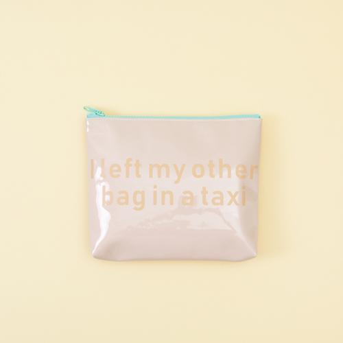 知音文創|萬用袋 藕粉防水袋