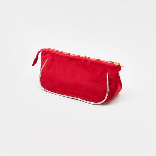 知音文創 化妝袋 短絨筆袋