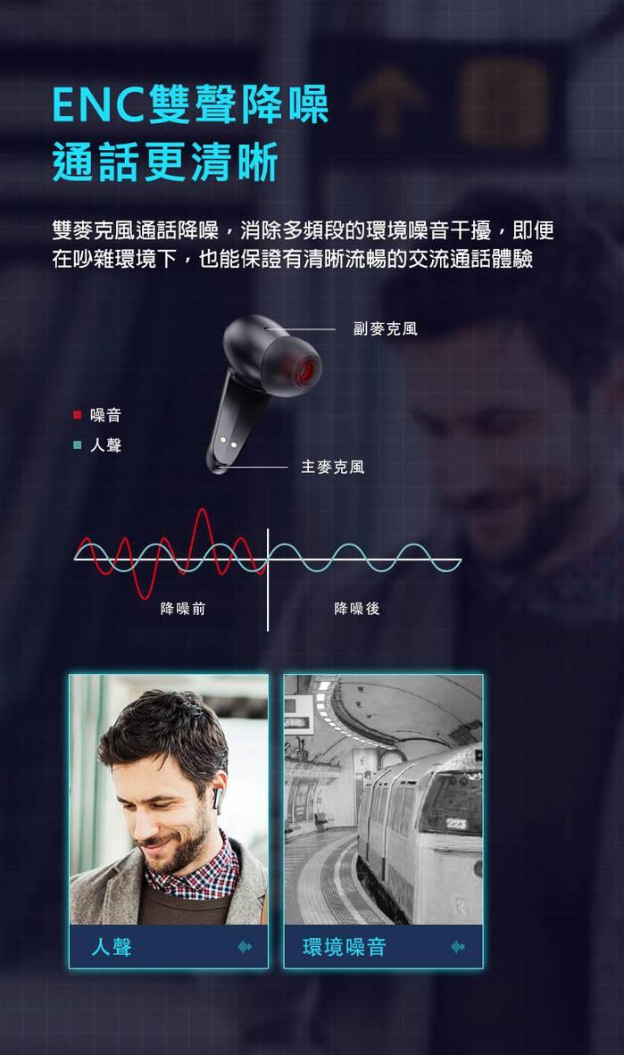 Monster|MISSION V1 TWS電競真無線藍牙耳機(炫光灰)
