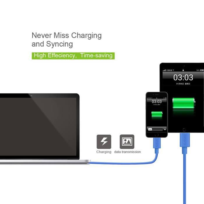 omars iPhone iPod傳輸 充電線-1.2M(玫瑰金)