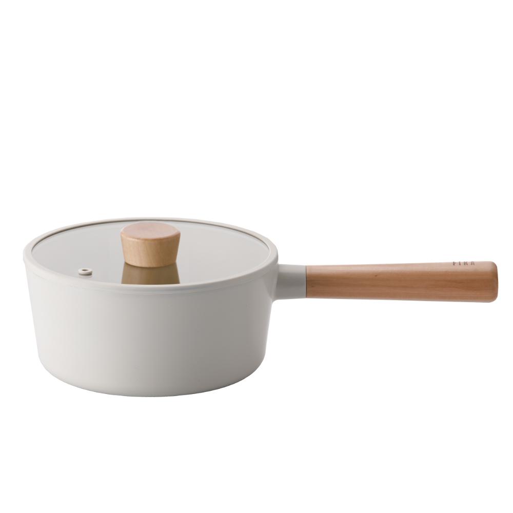NEOFLAM FIKA系列鑄造不沾單柄湯鍋18CM