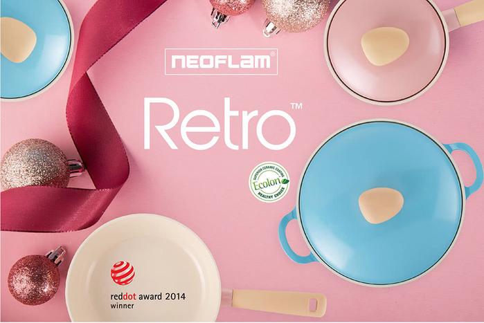 (複製)NEOFLAM Noblesse大貴鏃抗菌砧板刀具組