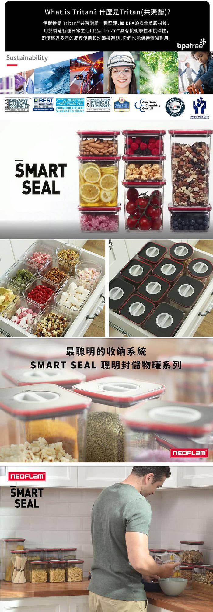 (複製)NEOFLAM|FIKA GLASS系列玻璃保鮮盒1380ml