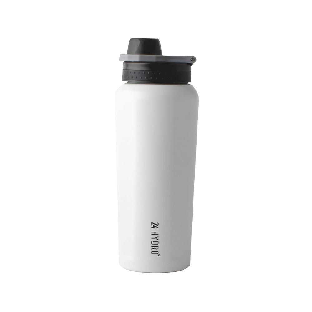 NEOFLAM 24 Hydro不銹鋼運動保溫瓶600ml-大理石白