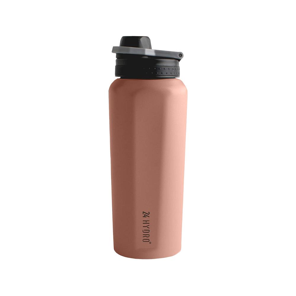 NEOFLAM|24 Hydro不銹鋼運動保溫瓶600ml-夕陽粉