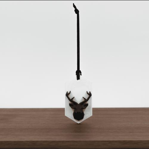 PINJI|動物森林 - 黑鹿擴香石精油組