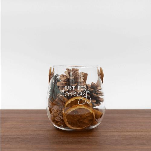 PINJI 森林手提皮革杯精油組