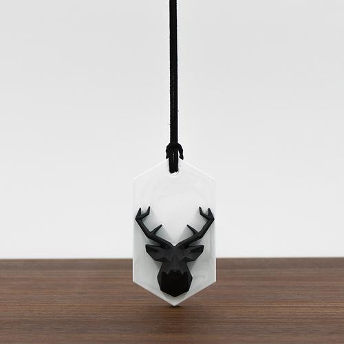 PINJI|動物森林-黑鹿擴香石