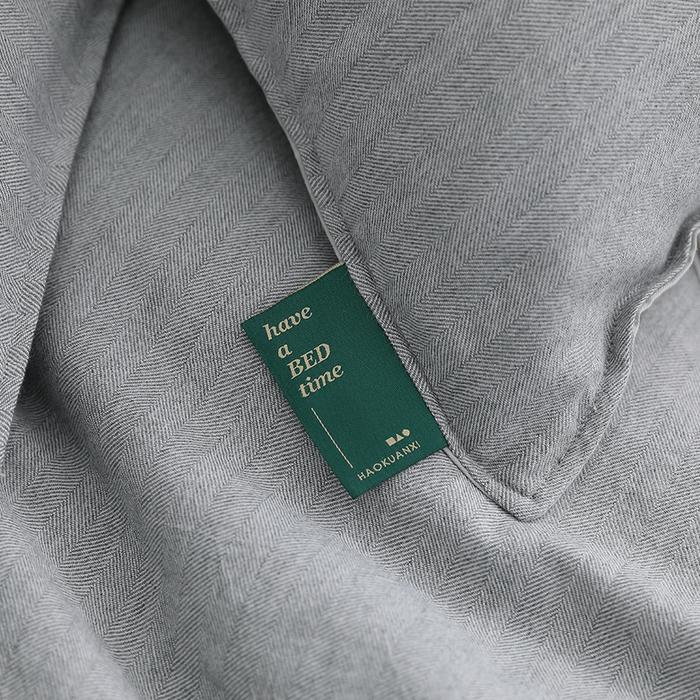 (複製)好關係 HAOKUANXI | 悠遊海洋-天然色織棉床包被套枕套組-標準雙人