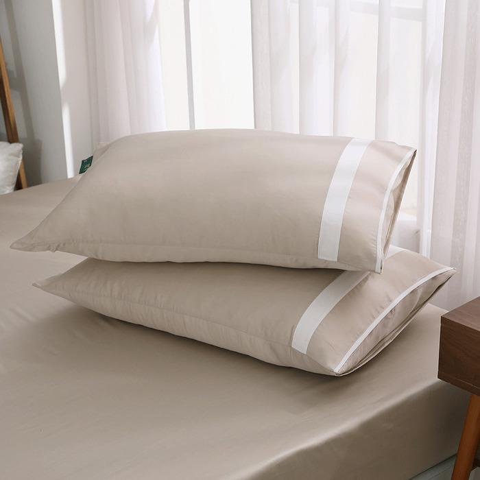 (複製)好關係 HAOKUANXI | 夏日藕粉-萊賽爾天絲床包被套枕套組-標準雙人