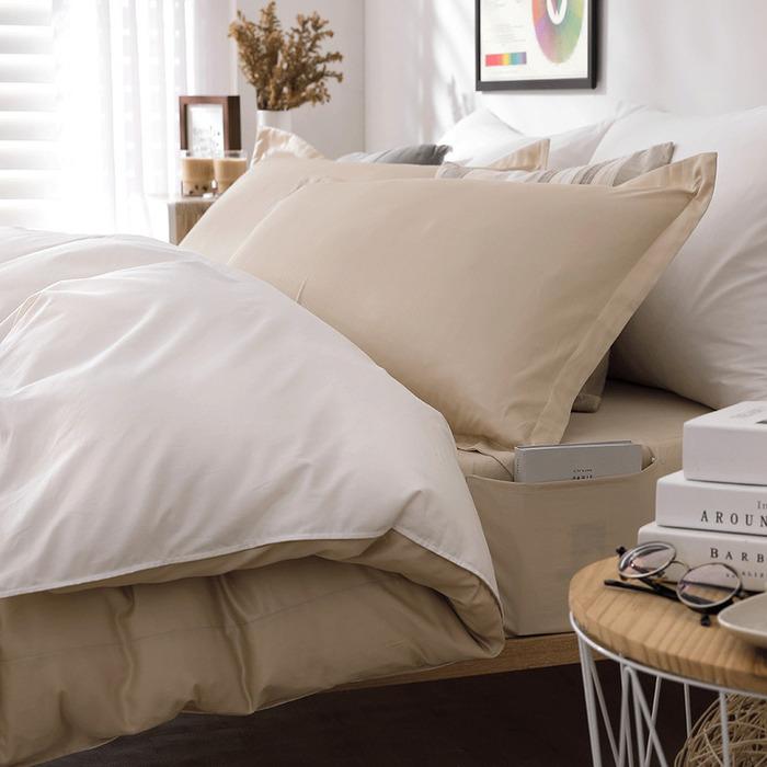 (複製)好關係 HAOKUANXI | 銀河夜空-新天絲棉床邊口袋床包被套枕套組-標準雙人