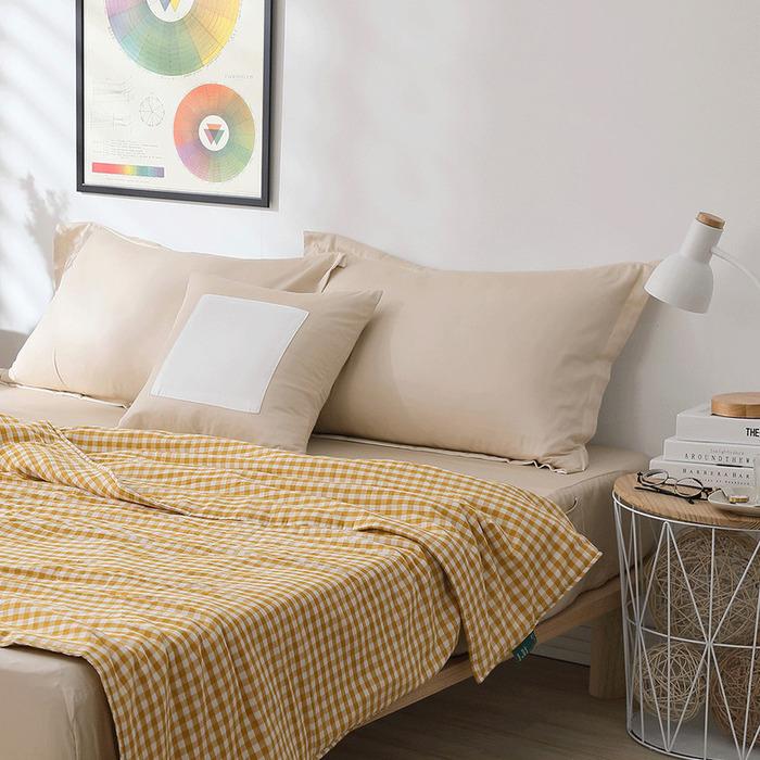 (複製)好關係 HAOKUANXI   沐浴朝陽-天然色織棉被套
