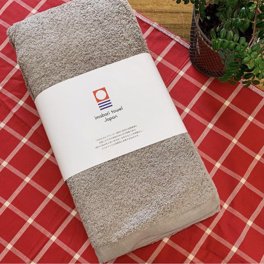 日本ORIM BULKY PRO今治飯店浴巾-棕色