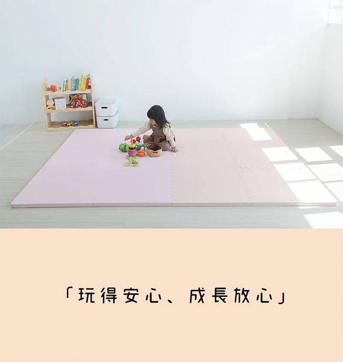 (複製)PatoPato|嬰幼兒專用馬卡龍60x60x3cm雙色地墊 - 灰&白 - 箱購9片裝