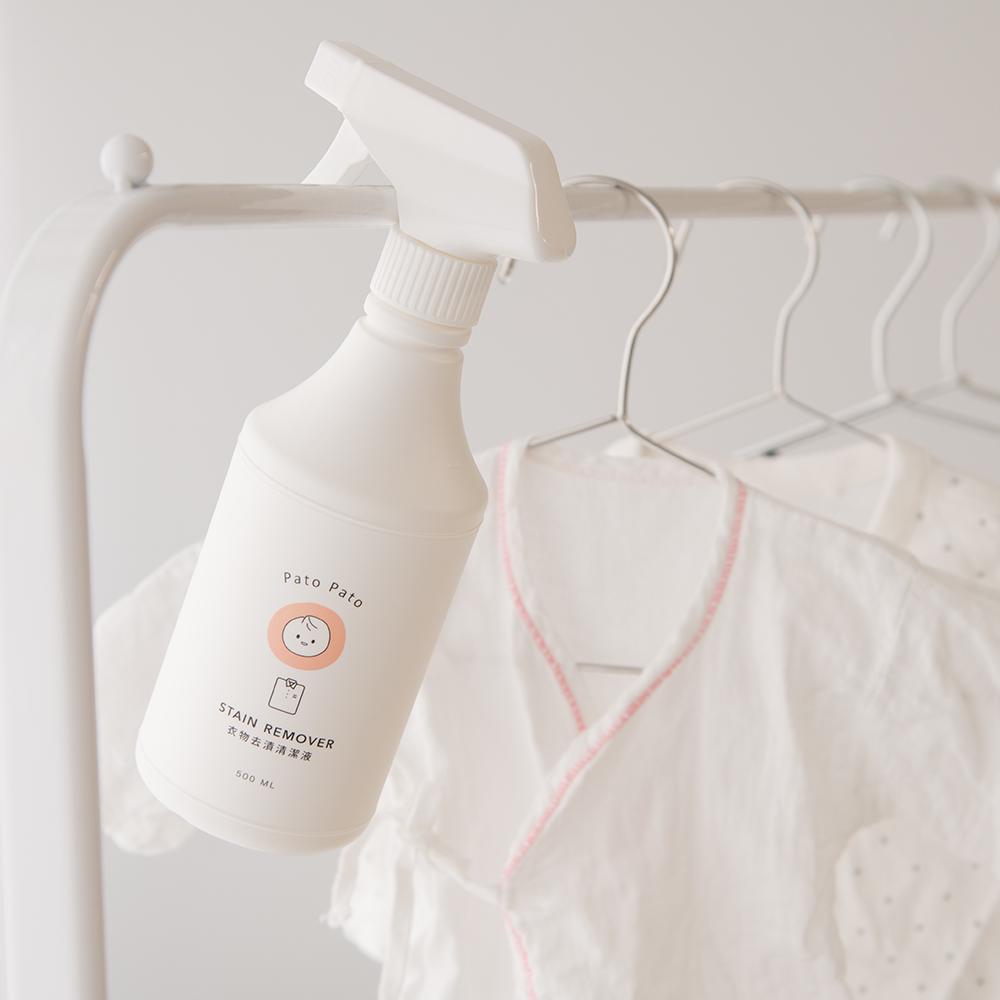 PatoPato 衣物去漬清潔液 - 500ml x 2入+ 2000ml 補充瓶 x 2入 (共4瓶裝)