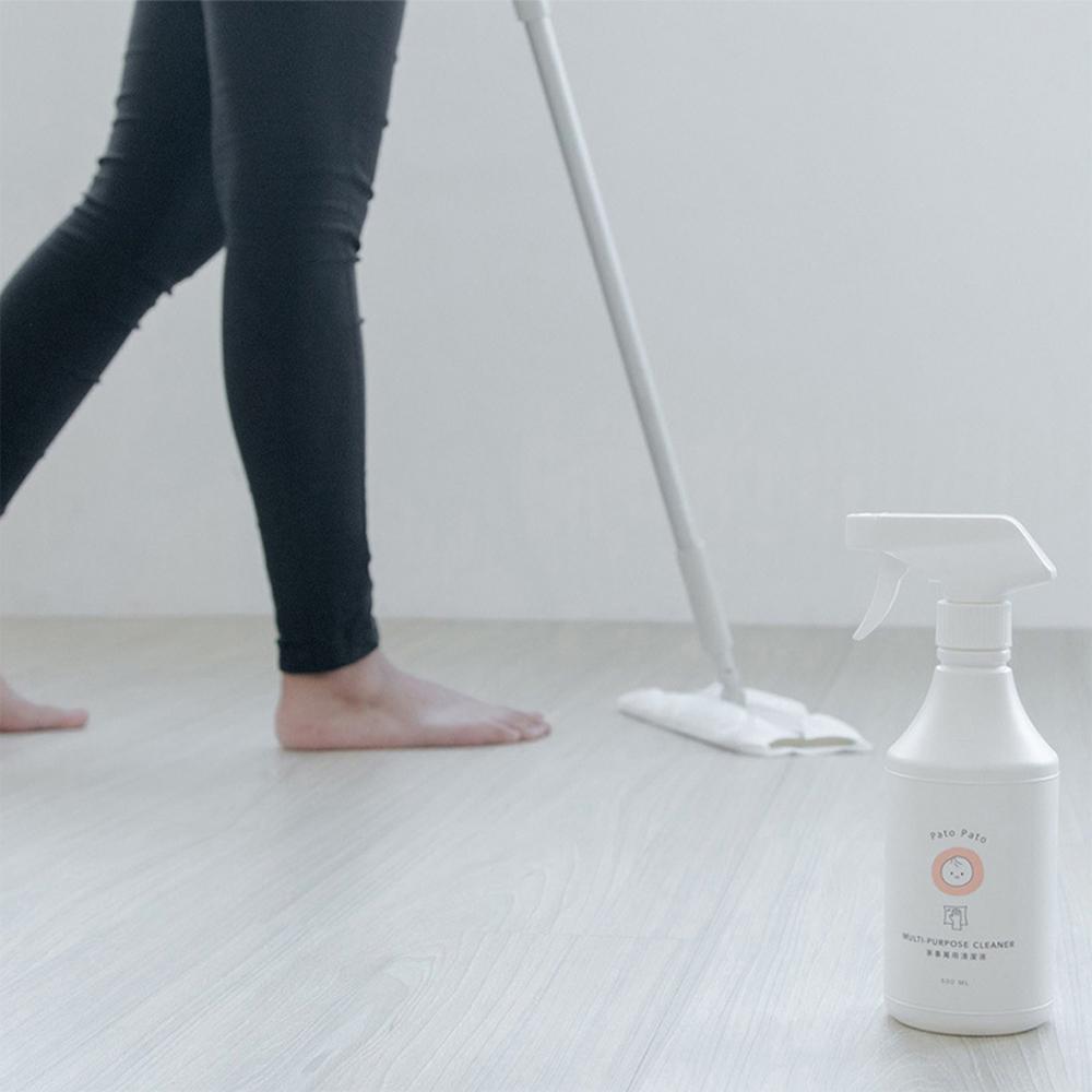 PatoPato 家事萬用清潔液 - 500ml x 2入+ 2000ml 補充瓶 x 2入 (共4瓶裝)