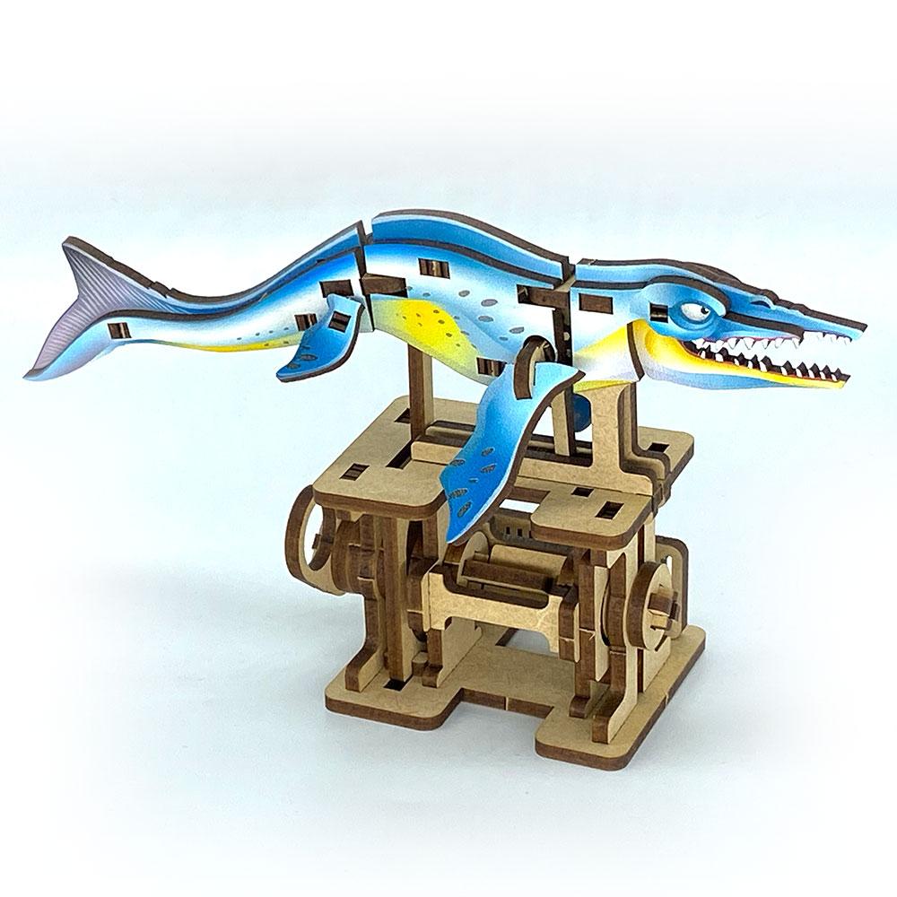 Fuumas|立體可動木質拼圖-船首海王龍