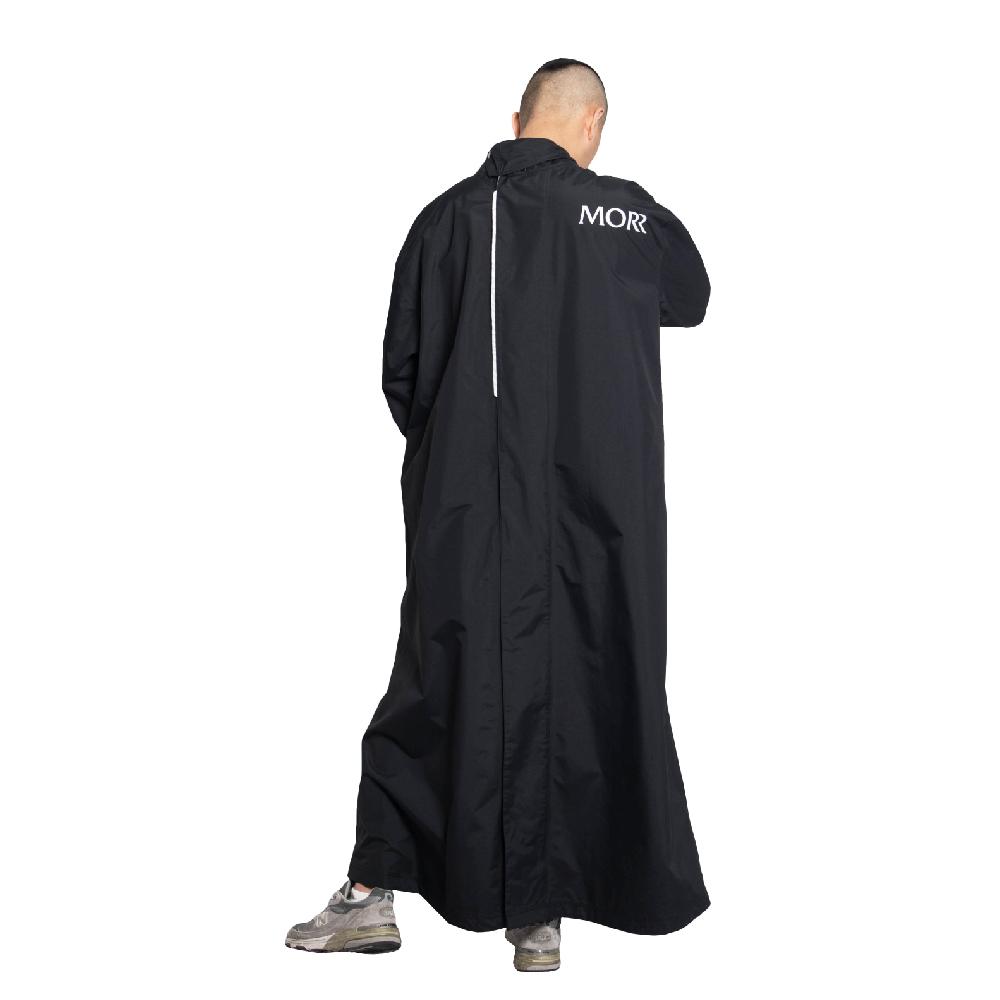 MORR 2021新版 - PostPosi 反穿雨衣(個性黑)