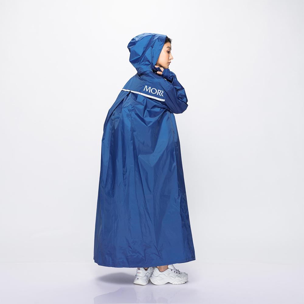 MORR 超防水-Dimensional 前開雨衣(青瓷藍)