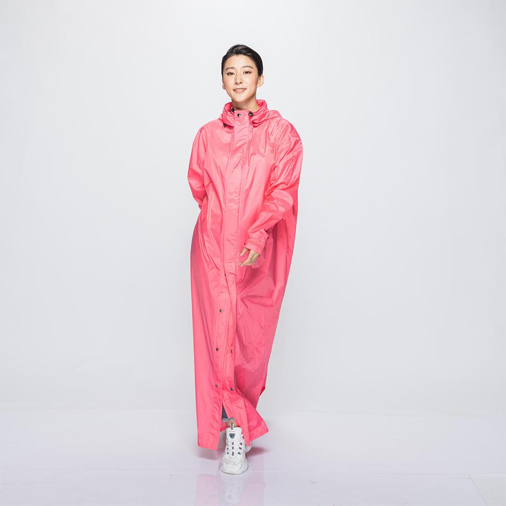 MORR|超防水-Dimensional 前開雨衣(蜜桃粉)