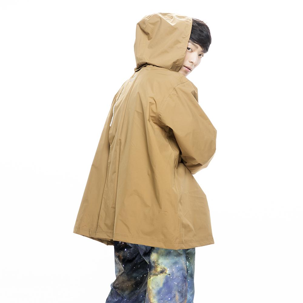 MORR Postshorti 磁吸式反穿防水外套(拿鐵咖)