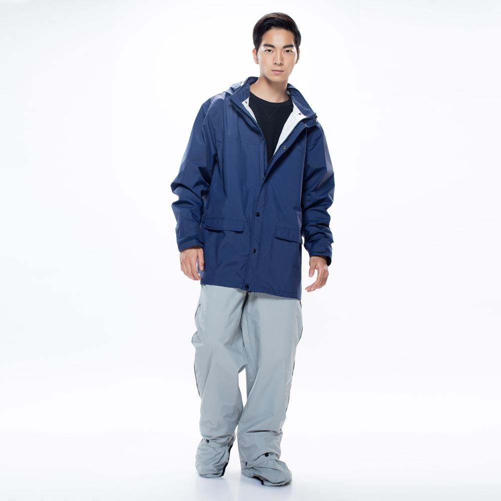 MORR|Expansion可收納延伸鞋套雨褲(紐約灰)