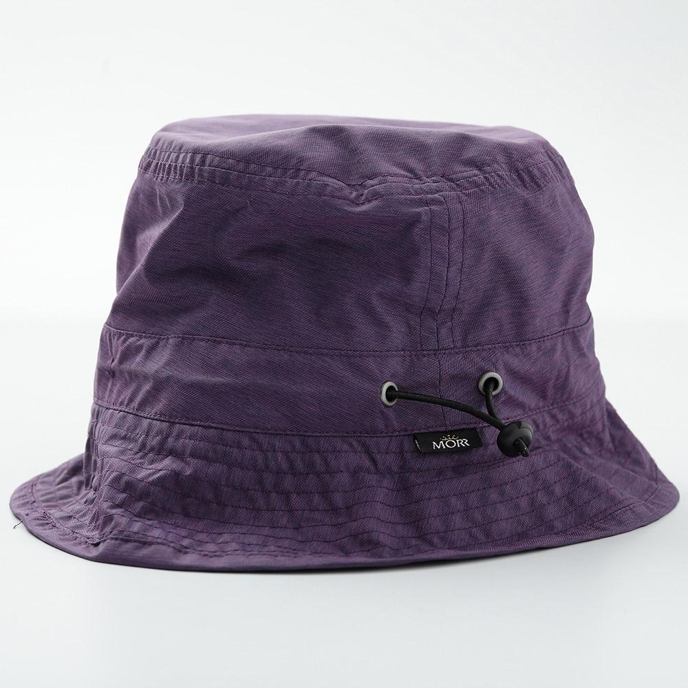 MORR Fisherman晴雨兩用收納帽(花紗紫)