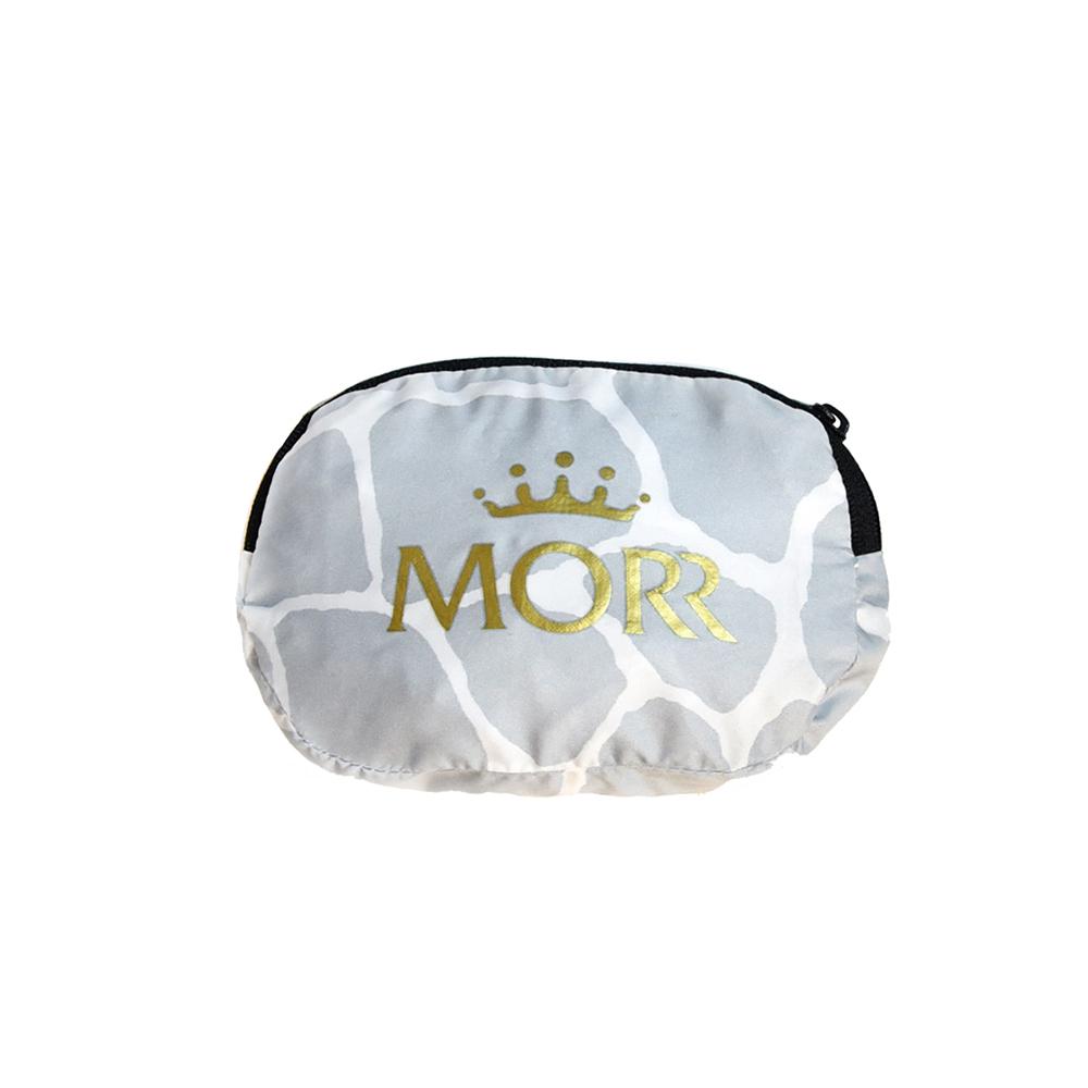 MORR|動物派對-防撥水收納購物袋(石紋白)