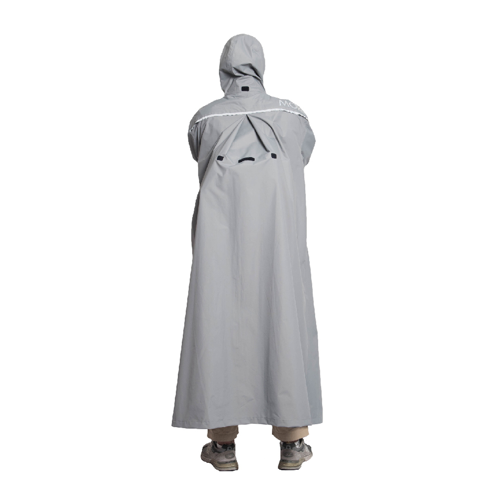 MORR Slashie 斜前開雨衣2.0 2021新版(紐約灰)