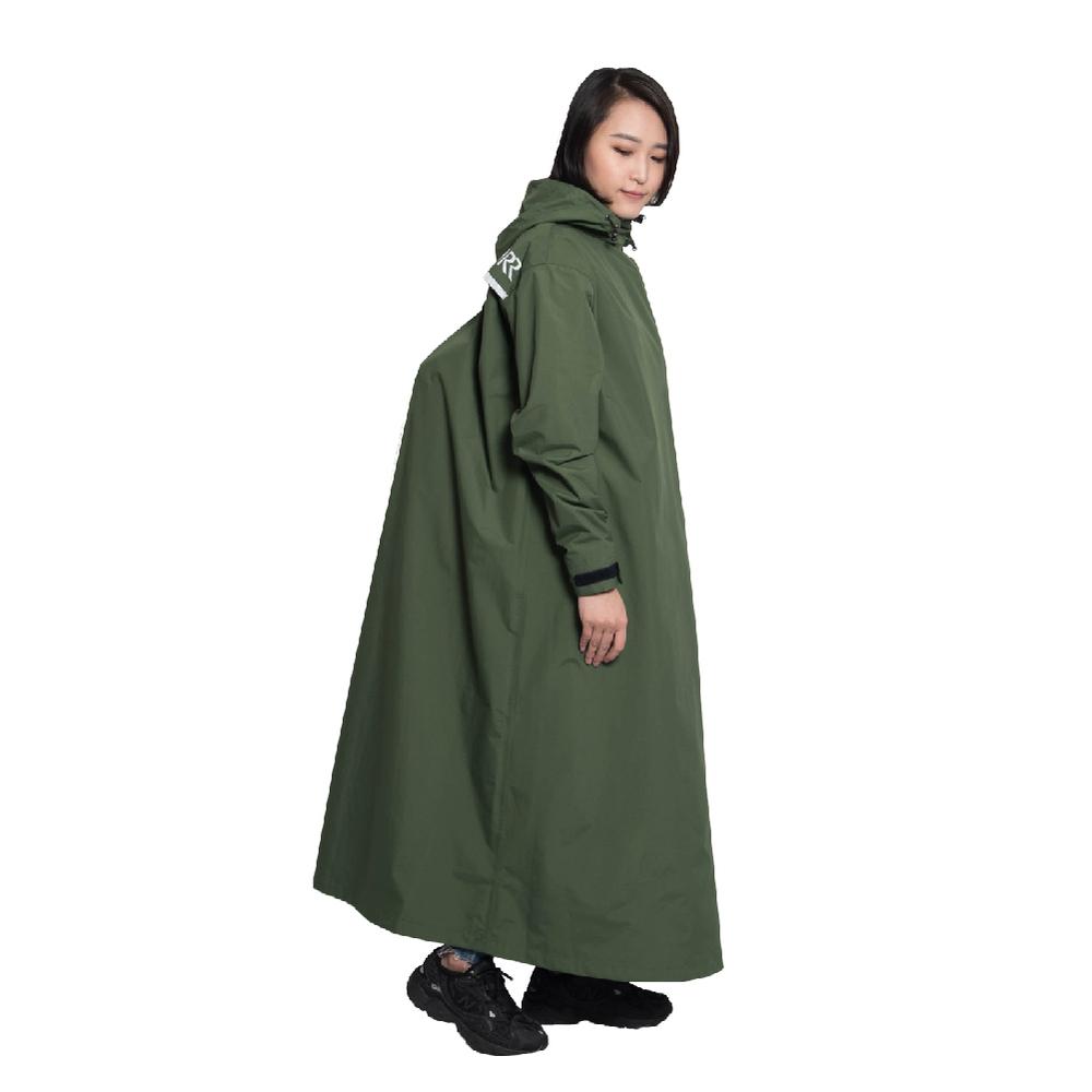MORR|Slashie 斜前開雨衣2.0 2021新版(橄欖綠)