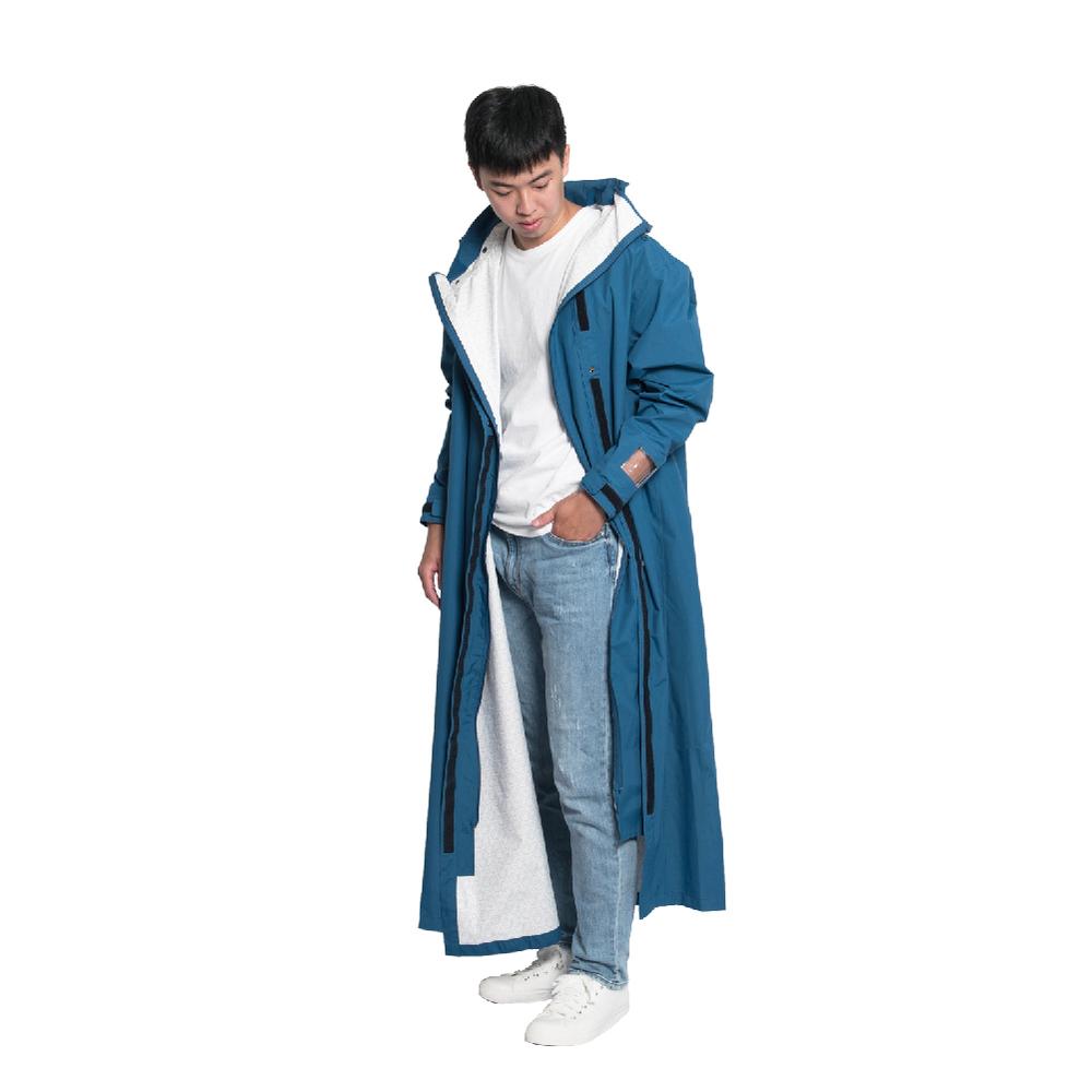 MORR Slashie 斜前開雨衣2.0 2021新版(青瓷藍)