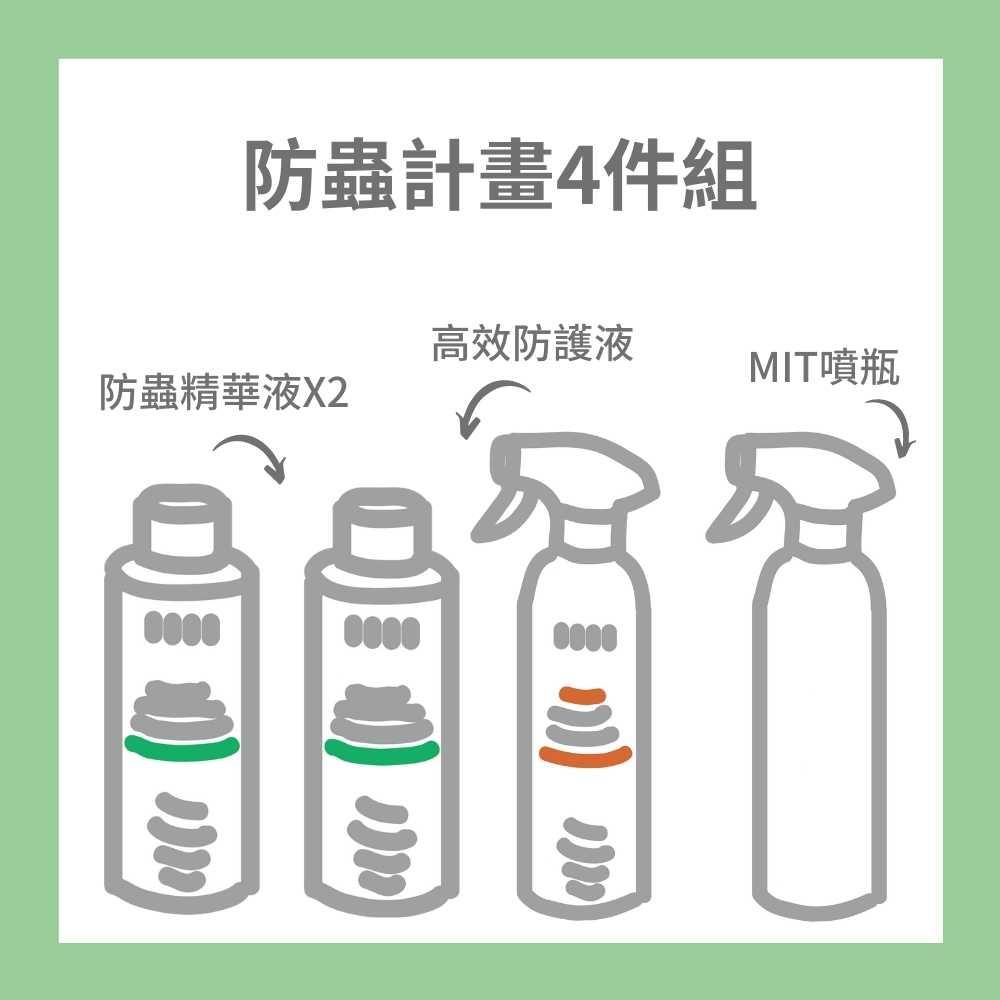 EASE 簡易淨|防蟲計畫4件組
