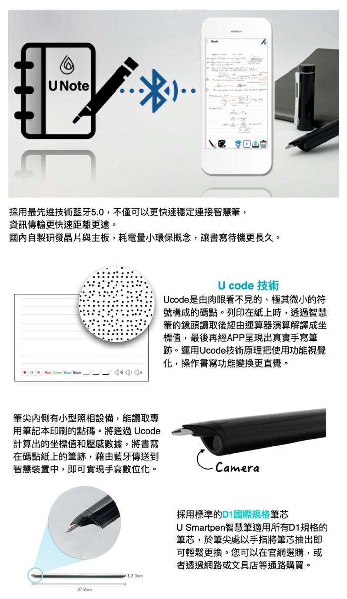 U Smartpen|智慧筆居家防疫組(冷灰)