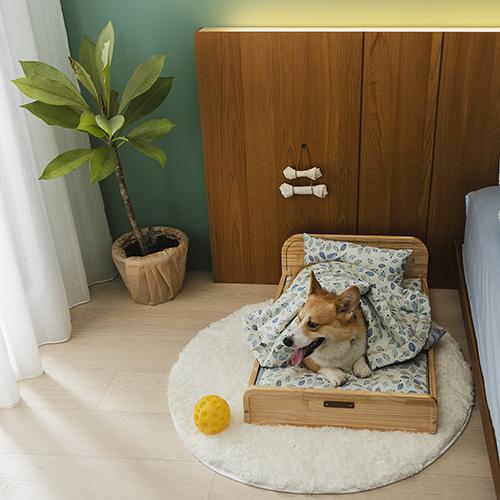 拍拍|寵物木眠床 L (不含寢具組)