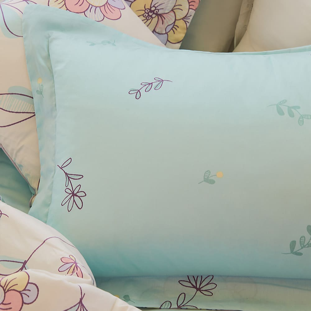 BBL Premium 100%棉.印花兩用被床包組-芬達希 Fantastic(雙人)