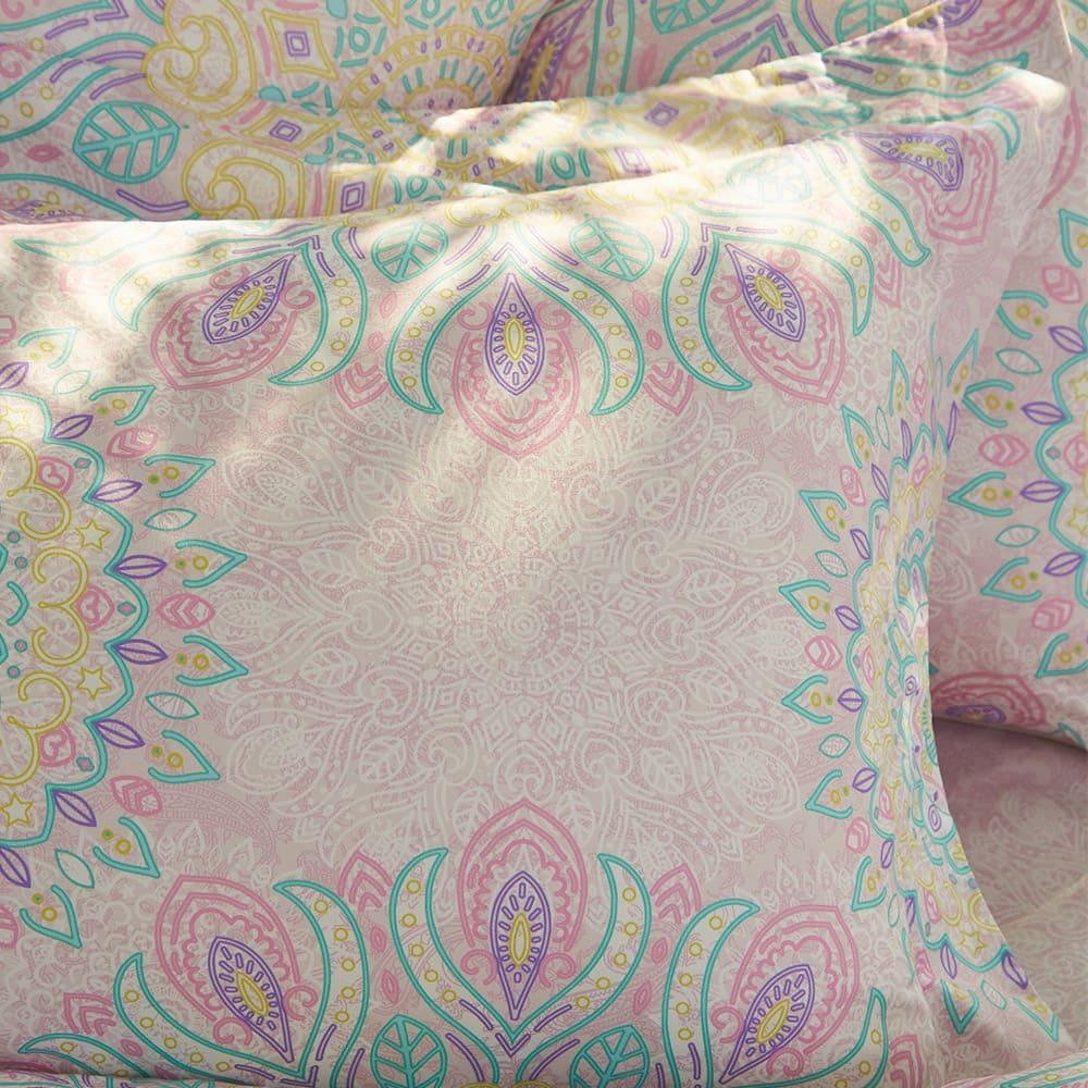 BBL Premium|100%棉.印花兩用被床包組-快樂迪斯可(雙人)