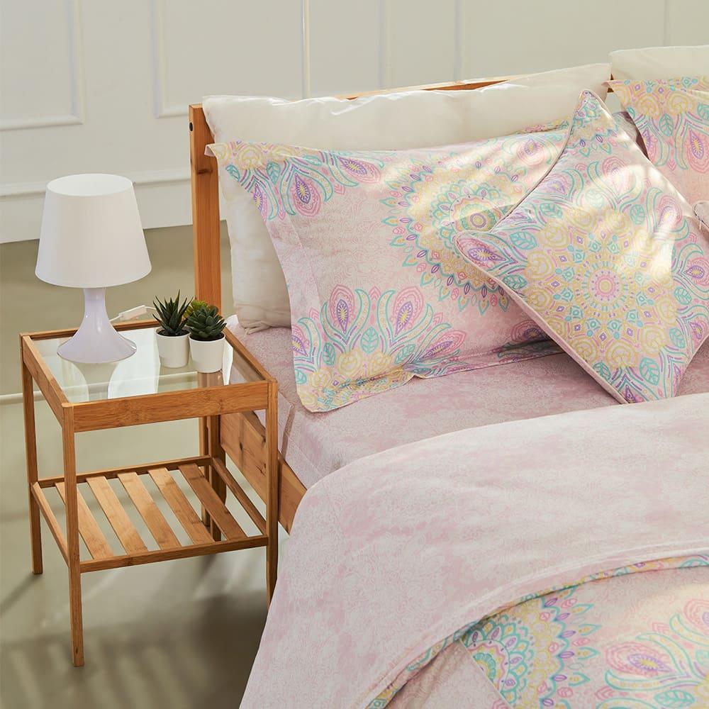 BBL Premium|100%棉.印花床包組-快樂迪斯可(雙人)