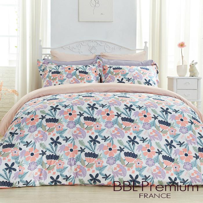 (複製)BBL Premium|【快樂迪斯可】100%棉.印花兩用被床包組(雙人)