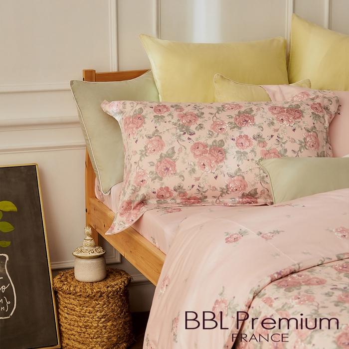(複製)BBL Premium 【花火盛艷】100%棉.印花床包組(單人)
