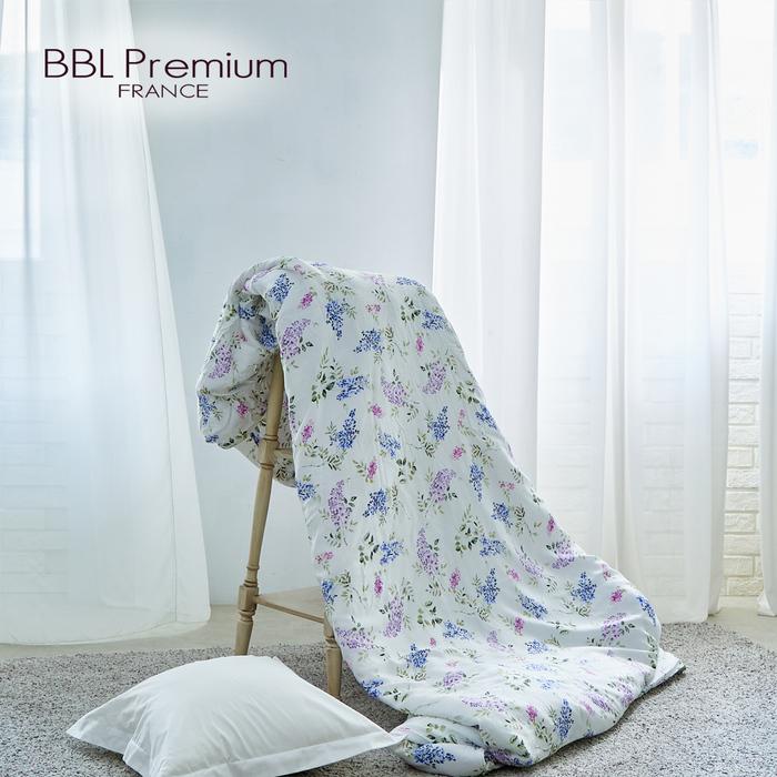 (複製)BBL Premium 100%天絲印花兩用被床包組-紫藤精靈(雙人)