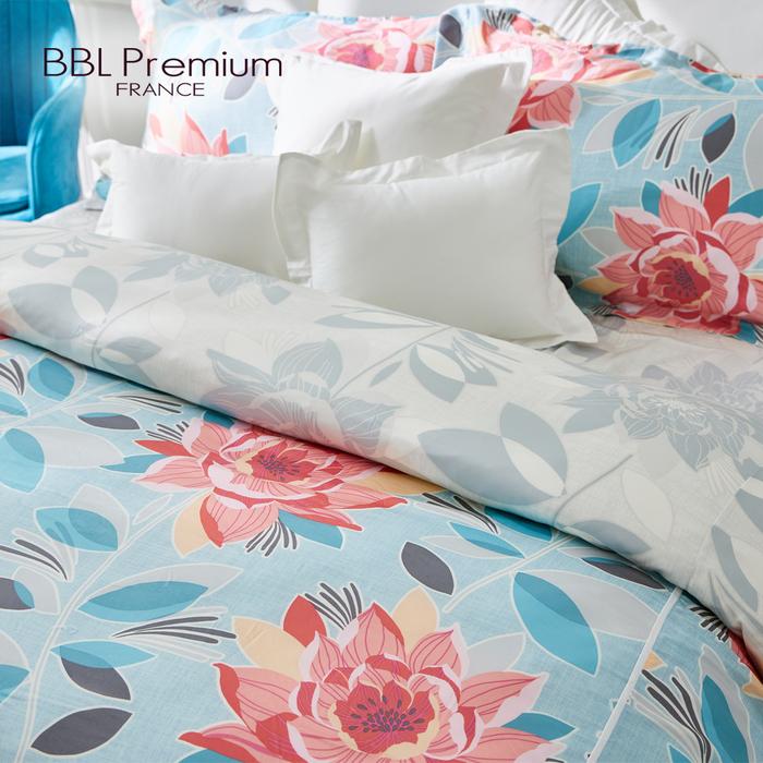 (複製)BBL Premium|100%天絲印花兩用被床包組-紫藤精靈(加大)