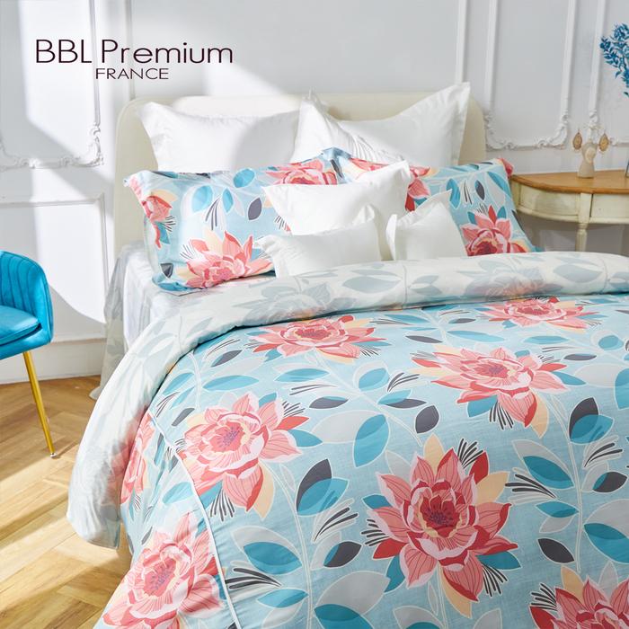 (複製)BBL Premium|100%天絲印花床包組-紫藤精靈(特大)