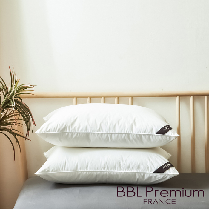 (複製)BBL Premium|CN9飯店款高級羽毛枕-銀白(一顆)