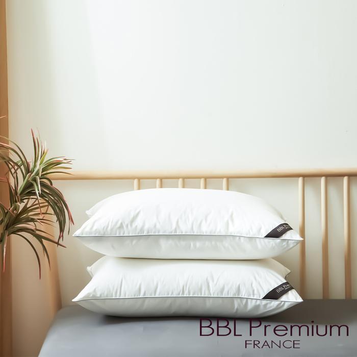 (複製)BBL Premium CN9飯店款高級羽毛枕-銀白(一顆)