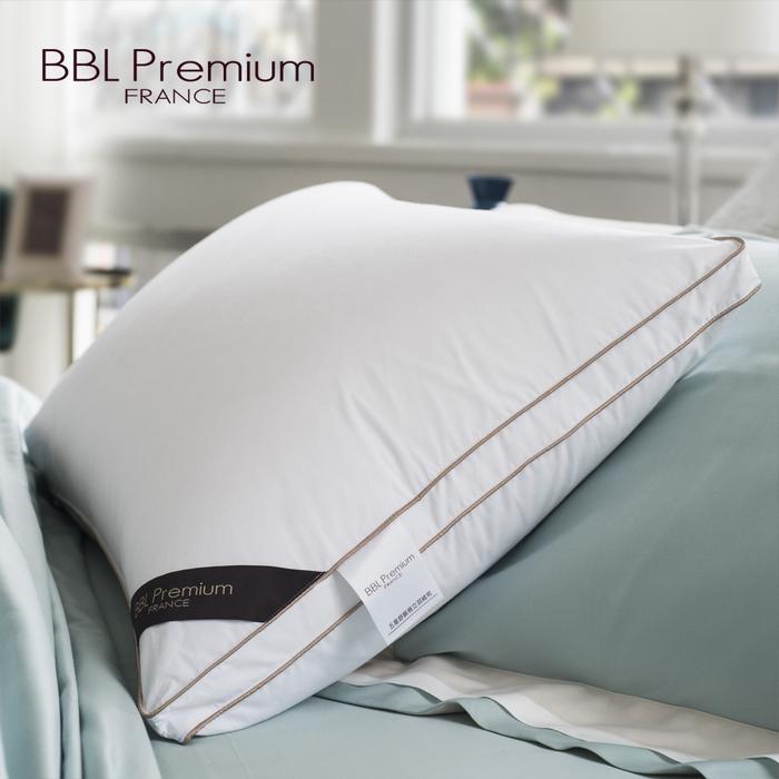 (複製)BBL Premium|CN9-JIS20/80蓬彈羽絨枕-銀灰(一對)