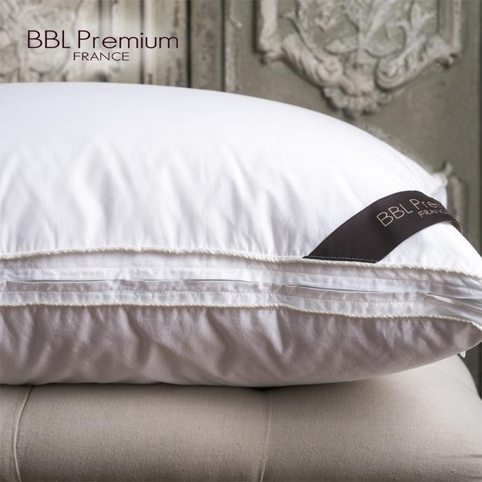 (複製)BBL Premium|品名 五星舒眠JIS25/75側立羽絨枕-卡其金(一對)