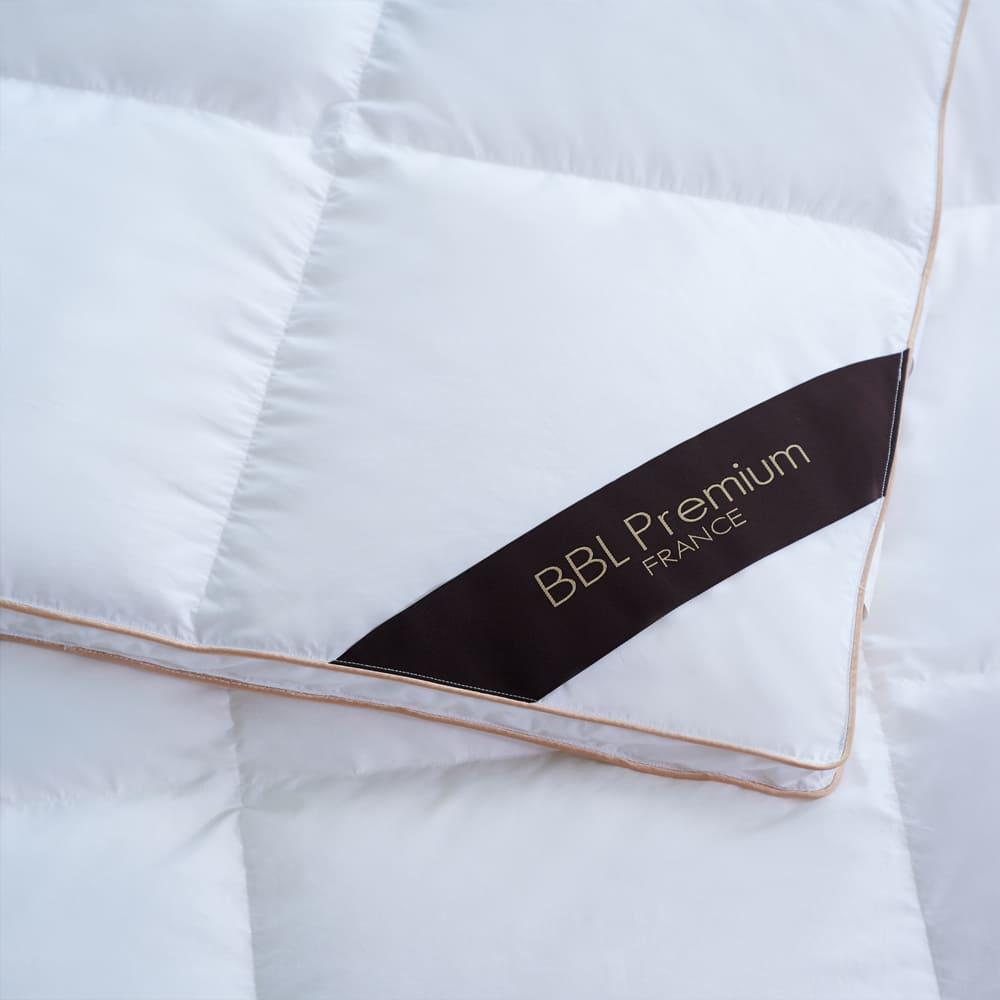 BBL Premium 尊品-JIS90/10側立鵝絨冬被-卡其金(加大)