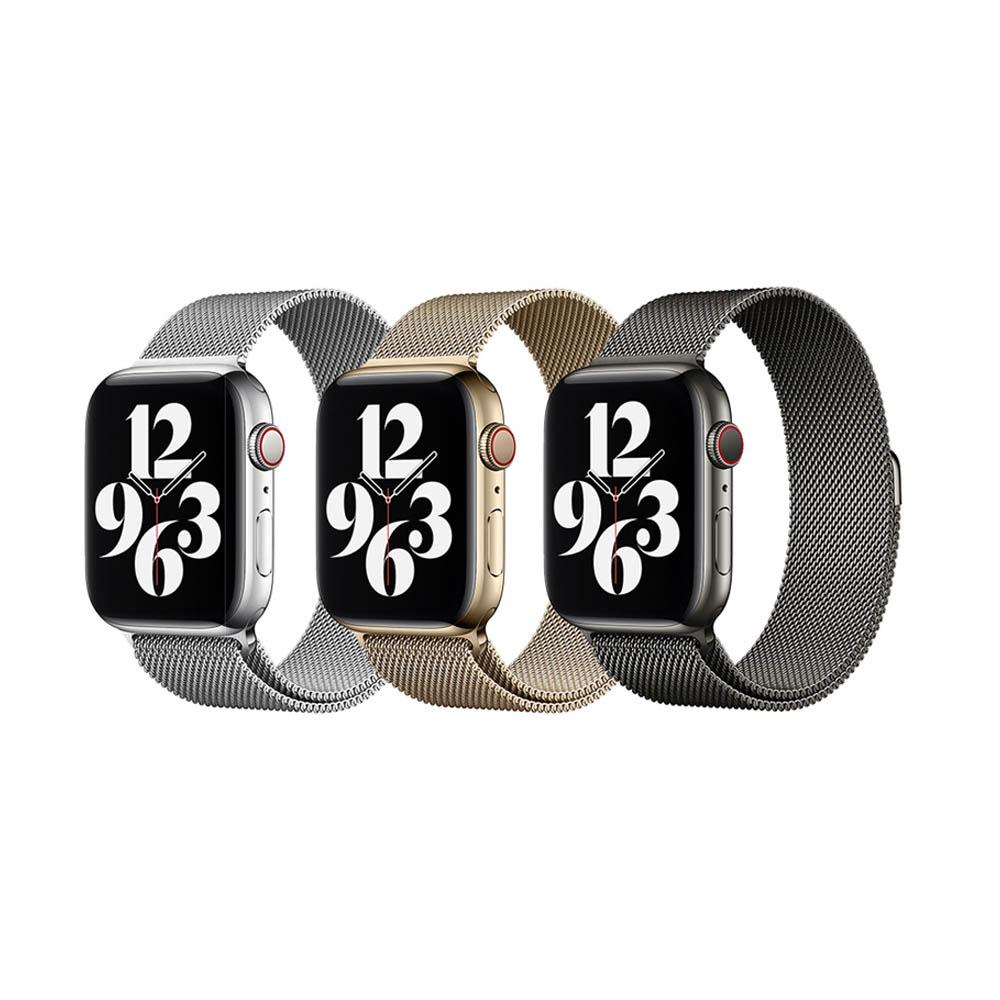 WiWU 米蘭不銹鋼系列錶帶 38/40MM