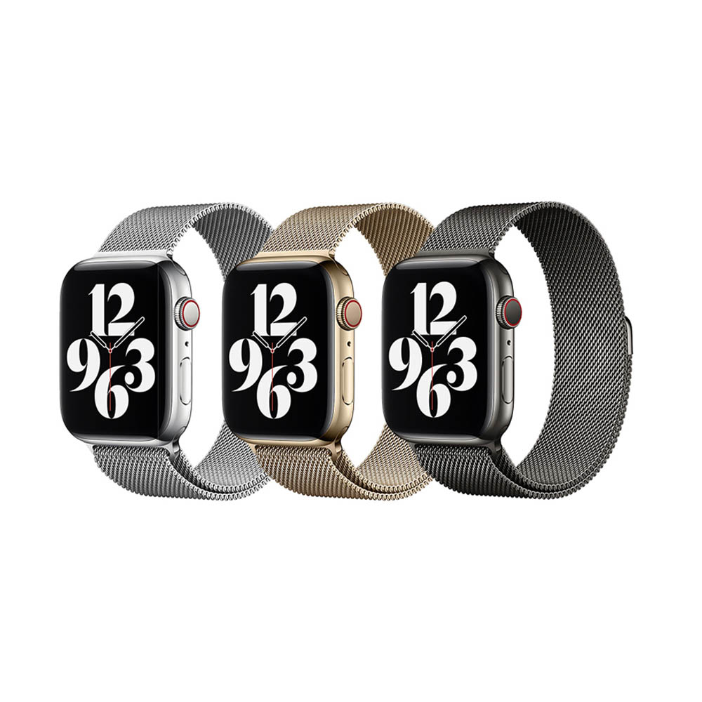 WiWU 米蘭不銹鋼系列錶帶 42/44MM