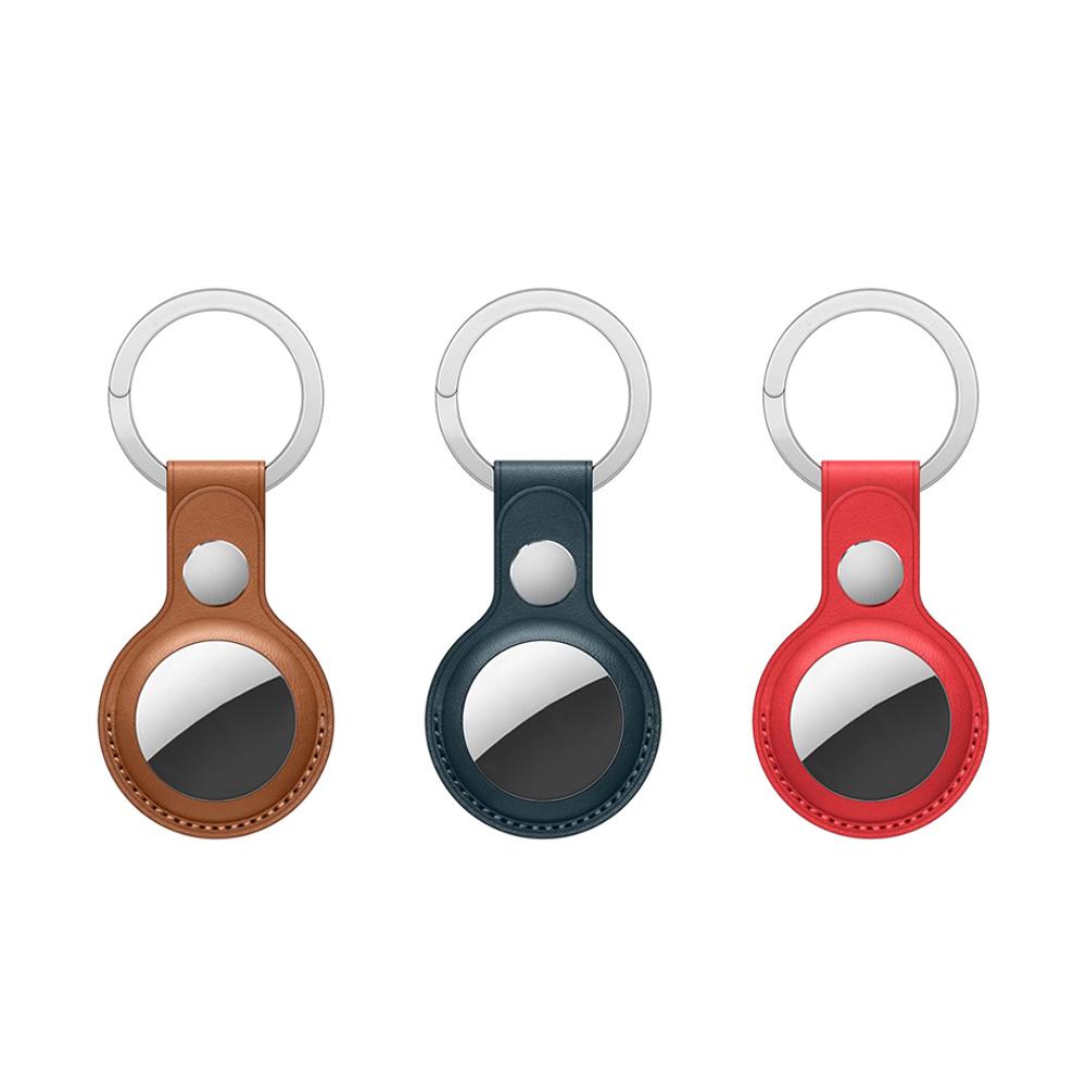 WiWU|AirTag系列皮革鑰匙圈 3色